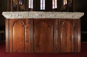 La table d'autel