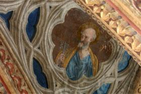 Décor peint Saint Pierre