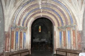 Le portail primitif, du XIIIe siècle (P. Poitou)